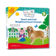Baby Einstein - Touch and Feel Neighbourhood Animals Book