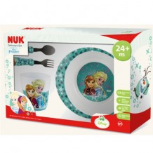 NUK Frozen Tableware Set