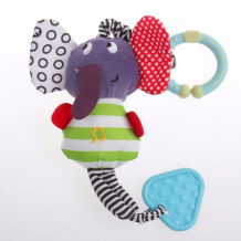 Music Elephant Baby Toy Rattle