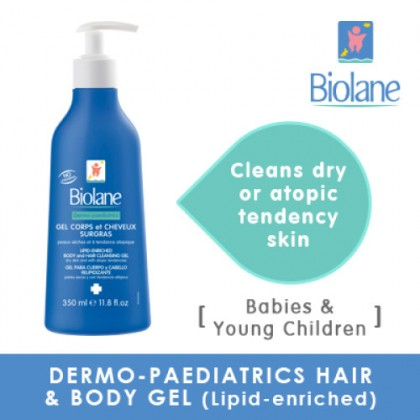 Biolane Dermo-Peadiatrics Hair & Body Gel 350ml