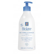 Biolane - 2 in 1 Body and Hair Cleanser 350ml