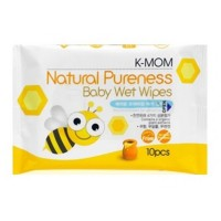 K Mom - Natural Pureness Wet Wipes 10s