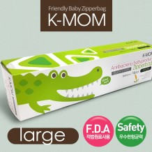 K Mom - Zipper Bag L (28cm x 24cm) 15pcs