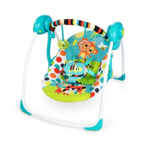 Bright Starts - Kaleidoscope Safari Portable Swing