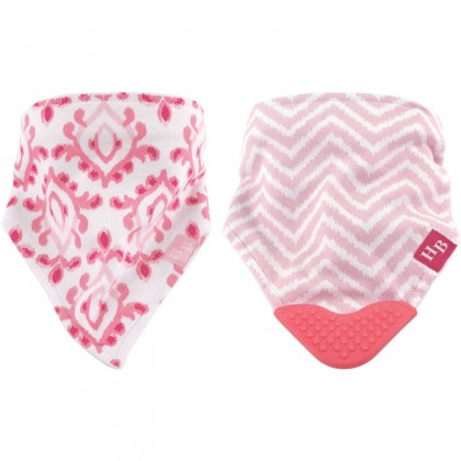 Hudson Baby - Bandana Bib with Teether