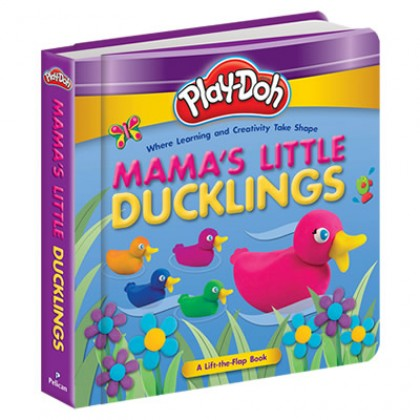 Play-Doh - Padded Board Book Mama's Little Ducklings