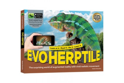 Arevo - Augmented Reality 3D EVO Book: EVO Herptile