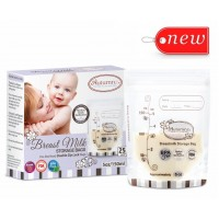 Autumnz - Double ZipLock Breastmilk Storage Bag (25 bags) *5oz*