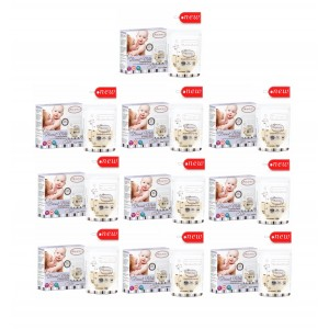 Autumnz - Double ZipLock Breastmilk Storage Bag (25 bags) *5oz x 10*