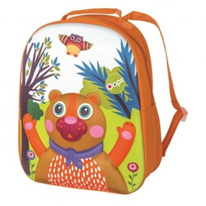 Oops - Happy Back Pack Bear