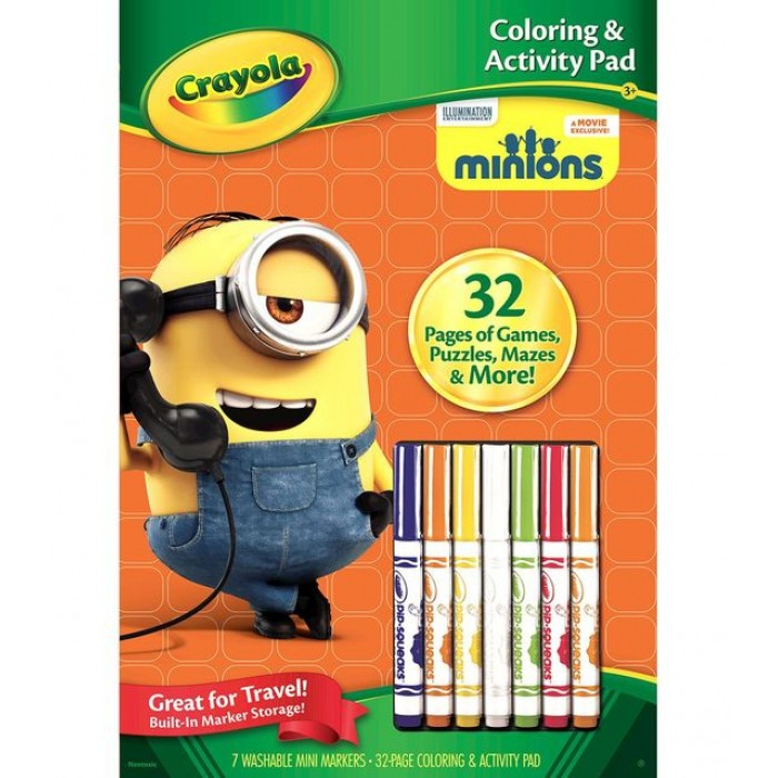Crayola - Coloring & Activity Pad - Minions
