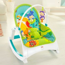 Fisher Price - Rainforest Friends Newborn-to-Toddler Portable Rocker