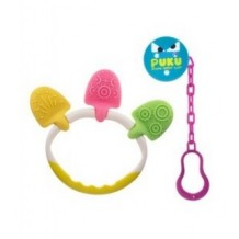 Puku - Teether with Pacifier Chain