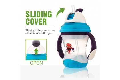 Puku - Space Sliding Cover Training Cup 180ml