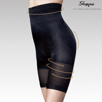 Shapee - High Waist Body Shaper (Black)