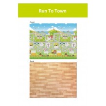 BebeDom - Run To Town (M) 180cm x 140cm x 1cm (Both Side)