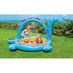 intex dino spray pool 90 x 65 x 46. Black Bedroom Furniture Sets. Home Design Ideas