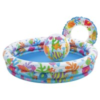 "Intex - Fishbowl Pool Set (52"" x 11"")"