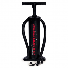 "Intex - 19"" Hi-Output Hand Pump Double Quick III"