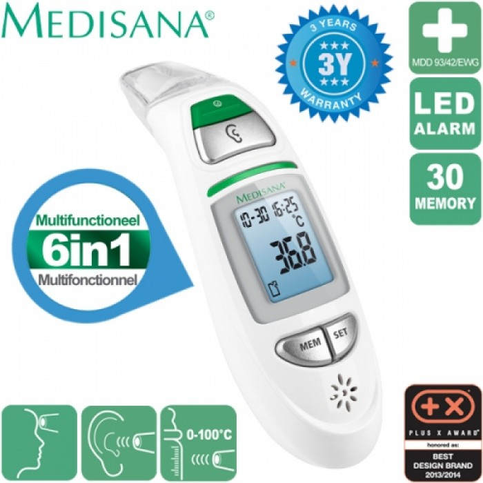medisana tm750 infrared multi function thermometer. Black Bedroom Furniture Sets. Home Design Ideas