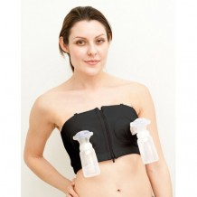 Simple Wisher - Hands Free Pumping Bra Black