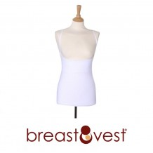 Breastvest - Breastfeeding Top (White)