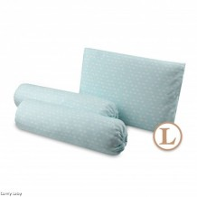 Comfy Baby - Bolster & Pillow Set Green Cloud (L)