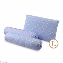 Comfy Baby - Bolster & Pillow Set Blue Star (L)