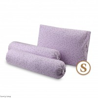 Comfy Baby - Bolster & Pillow Set Purple Floral (S)