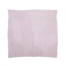 Babylove - Heritage Knitted Blanket Plain Pink (100cm x 100cm)