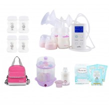 Spectra - 9 Plus Double Electric Breast Pump Extravaganza