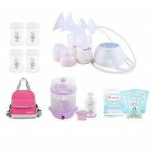 Spectra - M1 Portable Double Electric Breast Pump Extravaganza