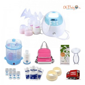 Spectra - S1 Hospital Grade Double Electric Breast Pump Extravaganza