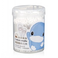 Kuku - Cotton Swabs Thin Stem 260pcs