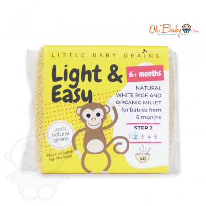 Little Baby Grains Light & Easy Chemical Free White Rice 6m+ (520g) Step 2