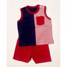 Budding - Singlet/Short Pant (Stripe)