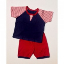Budding - Smart Sleeve/Short Pant (Stripe)