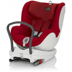 Britax - Dualfix Isofix Convertible Car Seat (Flame Red) 0-18kg