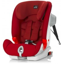 Britax - Advansafix II Sict (Convertible Booster)  Car Seat Flame Red (9-36kg)