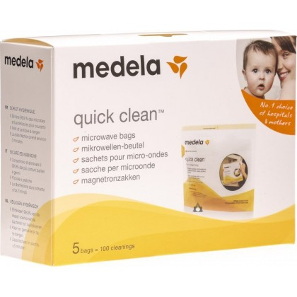 Medela - Quick Clean Microwave Steam Bag (5bag)