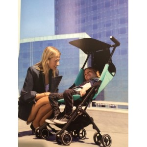 gb - Pockit Plus Stroller - Black/Turquoise/Navy Blue
