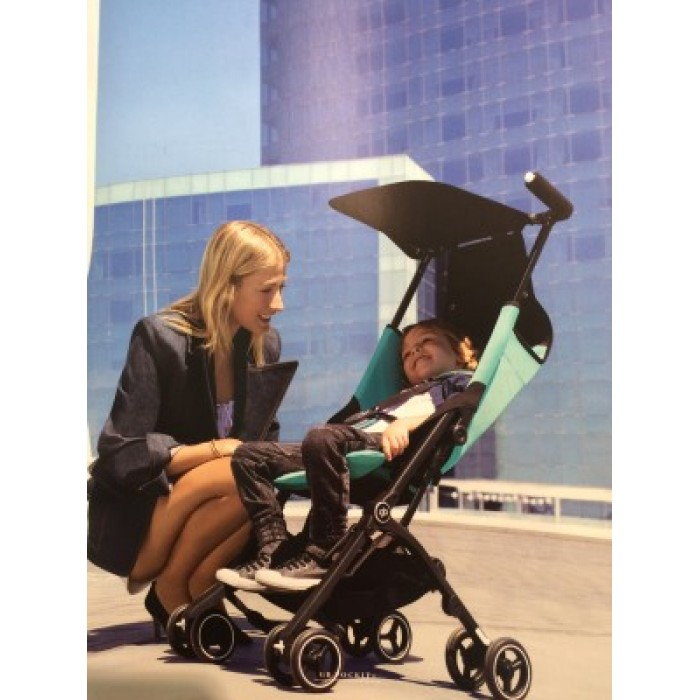 Gb Pockit Plus Stroller Black Turquoise Navy Blue