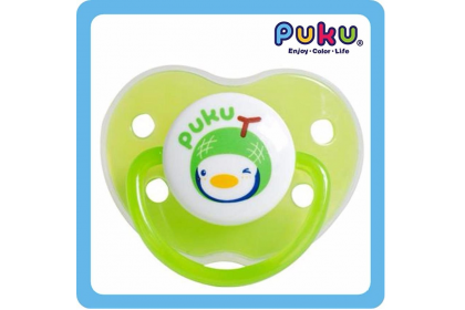 Puku - Baby Pacifier Apple with Cover 0m+