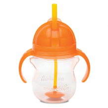 Munchkin - Click Lock Weighted Flexi-Straw Cup  7oz/207ml