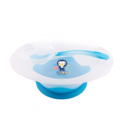 Puku - Non-Skid Bowl with Spoon