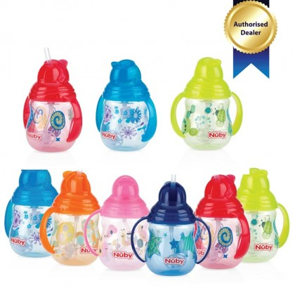 Nuby - Designer Series Pinpoint Click-It with Flit-It Top 270ml