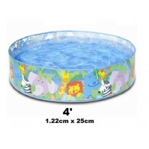Intex - 4' Clear View Snapset Pool (122cm x 25cm)