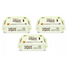 Natural Organic - Original Baby Wipes (30s x 3)