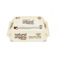 Natural Organic - Premium Embossing Type Baby Wipes 30s
