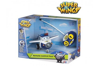 Super Wings Toy - Fly 'Em Fast! Paul with Remote Control